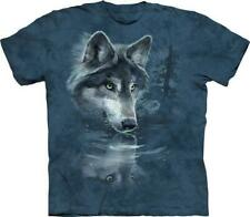 """The Mountain Kinder T-Shirt """"Wolf Reflection"""""""