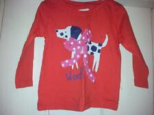 BNWT NEXT baby girls red dog top age 3-6 months