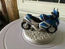 Edible Motor Bikes and Rider Cake Topper Decorations