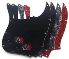 Jazz Bass Pickguard to fit MiJ Aerodyne Japan: various colours - 1, 3 or 4 ply