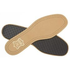 New Mens Cherry Blossom Tan Leather Active Insoles