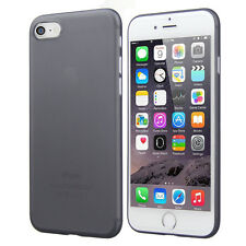 Apple Iphone  6 and 6s 0.3mm Ultra Thin Matte Plastic Hard Back Phone Shell Case