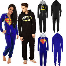 Onesie Batman Superman Trainingsanzug Overall Einteiler Jumpsuit Jogging Anzug