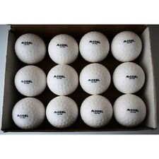 MODEL FIELD HOCKEY PVC DIMPLE MATCH BALL / PRACTICE/CLUB/SCHOOL WHITE TOP END