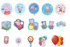 PEPPA PIG & GEORGE Latex, Foil, Cubez, Supershape Foil Balloons, Lots of Choice