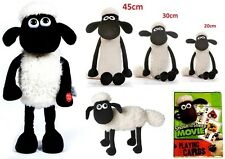 SHAUN THE SHEEP 20-45cm SOFT Plush Toy Shivering LICENSED Bitzer Playing Cards