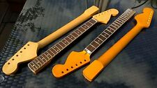 Stratocaster Maple Neck, Bound Rosewood Board, CBS Strat, Tele Deluxe, amber