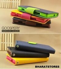 Mercury Goospery Wallet Flip Diary Book Back Cover Case For All Samsung Models