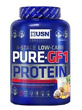 USN Pure GF1 2.28kg Growth and Repair Protein Powder Lean Muscle FREE sample