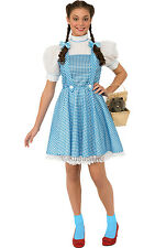 Wizard of Oz Dorothy Fancy Dress Costume Ladies TV and Film Costumes