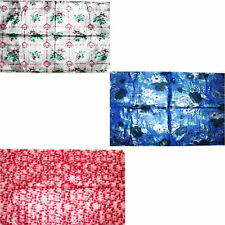 WATER PROOF COLORFUL PLASTIC BED SHEET, REUSABLE, BABY, BED SHEET