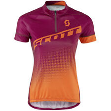 Scott Endurance 40 Damen Fahrrad Trikot kurz lila/orange 2017