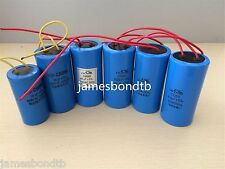 AC Motor Plastic Capacitor Machine Starting And Running Capacitor CBB60 450VAC