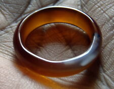 100% Natural Agate Beautiful Finger Ring (10.60 cts) 16 mm Inside Gemstone