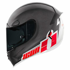 Icon Airframe Pro Carbon Flash Bang Sports Motorcyle Helmet - Black