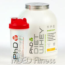 PhD Nutrition Diet Whey 2kg Slimming Weight Loss Protein Shake With Free Shaker