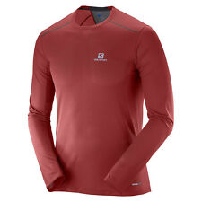 Neu! Salomon Trail Runner Long Sleeve Tee Laufshirts Langarm Herren