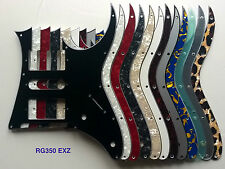 Ibanez RG350 EXZ MDX EX pickguard HSH various colours 1, 3, 4 ply, pearl, mirror