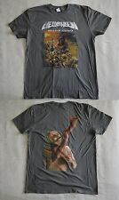 "Helloween official T-shirt ""Walls of Jericho"" grey (XXL) NEW"
