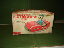 "1962 CRAGSTAN PLAYLAND SCOOTER ""BUMPER CAR"" in BOX, MADE IN JAPAN by KO"