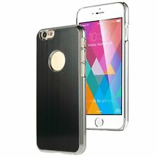 Luxury Steel Aluminum ND W/Chrome Snapon Hard Cover Case for iPhone 6 4.7