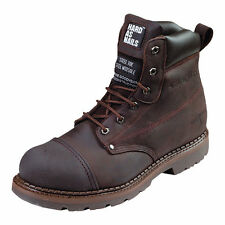 Genuine Buckler B301SM Safety Boot Brown Leather Lace Boot Free Postage