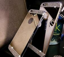 """Mirror Crystal """"50 Bling Silicone Soft Gel Case Back Cover Fits IPhone Apple"""