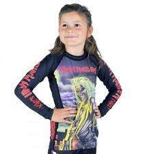 Tatami x Iron Maiden Killers Kids BJJ Rash Guard Childrens Jiu Jitsu MMA Metal