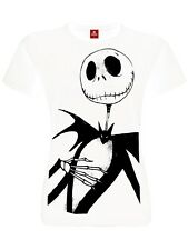 The Nightmare Before Christmas Jack ME ragazza T-Shirt bianco