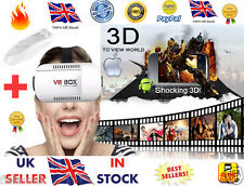 ☆NEW☆ 3D 360 Degree Virtual Reality VR Box 2 Glasses + Controller Games Movies