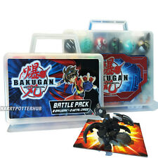 18 Pcs/ 9Pcs bakugan &Metal Cards in Bakucase Boys Toys Battle Brawler Random UK