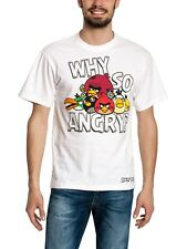 angry Birds Why so angry? camiseta blanca