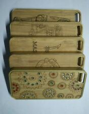 Natural Bamboo Wood Compass Shape Hard Case Cover For iPhone 5 / 5S(Sku-c140)