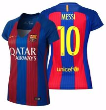 NIKE LIONEL MESSI FC BARCELONA WOMENS HOME JERSEY 2016/17 QATAR.