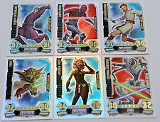 Force Attax Clone Wars Serie 3 – Force Meister, Star & lim. Karten aussuchen Neu