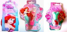 DISNEY Princess Little Mermaid Ariel Pocket Mirror Shimmer Lip Balm Nail Polish