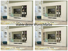 anbauwand wohnwand kleiderschrank tv schrank haengeschrank wandregal ebay. Black Bedroom Furniture Sets. Home Design Ideas