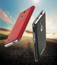 For*** XIAOMI MI REDMI NOTE 3***  CHROME BUMPER WITH PU LEATHER BACK CASE COVER