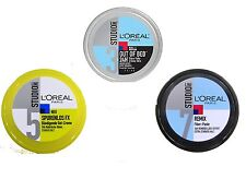 (25€/L) 150 ml LOREAL Studio Line Out of Bed, Remix Fiber Paste, Traceless Cream