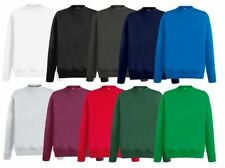 NEU Fruit of the Loom Herren Sweatshirt Sweat Pullover Pulli Shirt S M L XL XXL