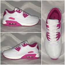 *WOW* New Style AIR Sportschuhe / Sneakers WEISS / PINK
