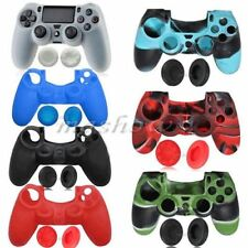 Soft Silicone Rubber Case Grip Skin For Sony Playstation 4 PS4 Controller