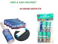 LINT REMOVER ROLLER STICKY BRUSH DUST FLUFF FABRIC PET DOG HAIR CLOTHES