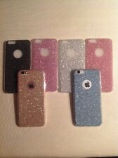 GLITTER SPARKLY BACK Fits IPhone Soft Bling Shock Proof Silicone Case Cover A40