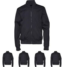 OFFERTA French Connection Mens FCUK Sport Baseball Jacket Marine Blue Small Che
