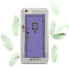 Friends Purple Door iPhone 7 8 Plus Rubber Case For iPhone XR XS Max 6s 5s Cover
