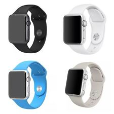 New Replacement Sports Silicone Bracelet Wrist Band For Apple iWatch 38/42mm