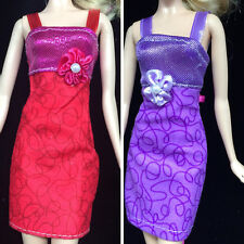 New Fashion Handmade Clothes Dress For Barbie Doll Different Style New UK