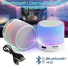 Bluetooth Wireless Mini Portable Speaker Bass for MP3 iPhone iPad with LED Light
