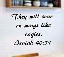28260e13a270 Eagle Statue Black Wooden Base Verse Isaiah 40 31 They Soar ...